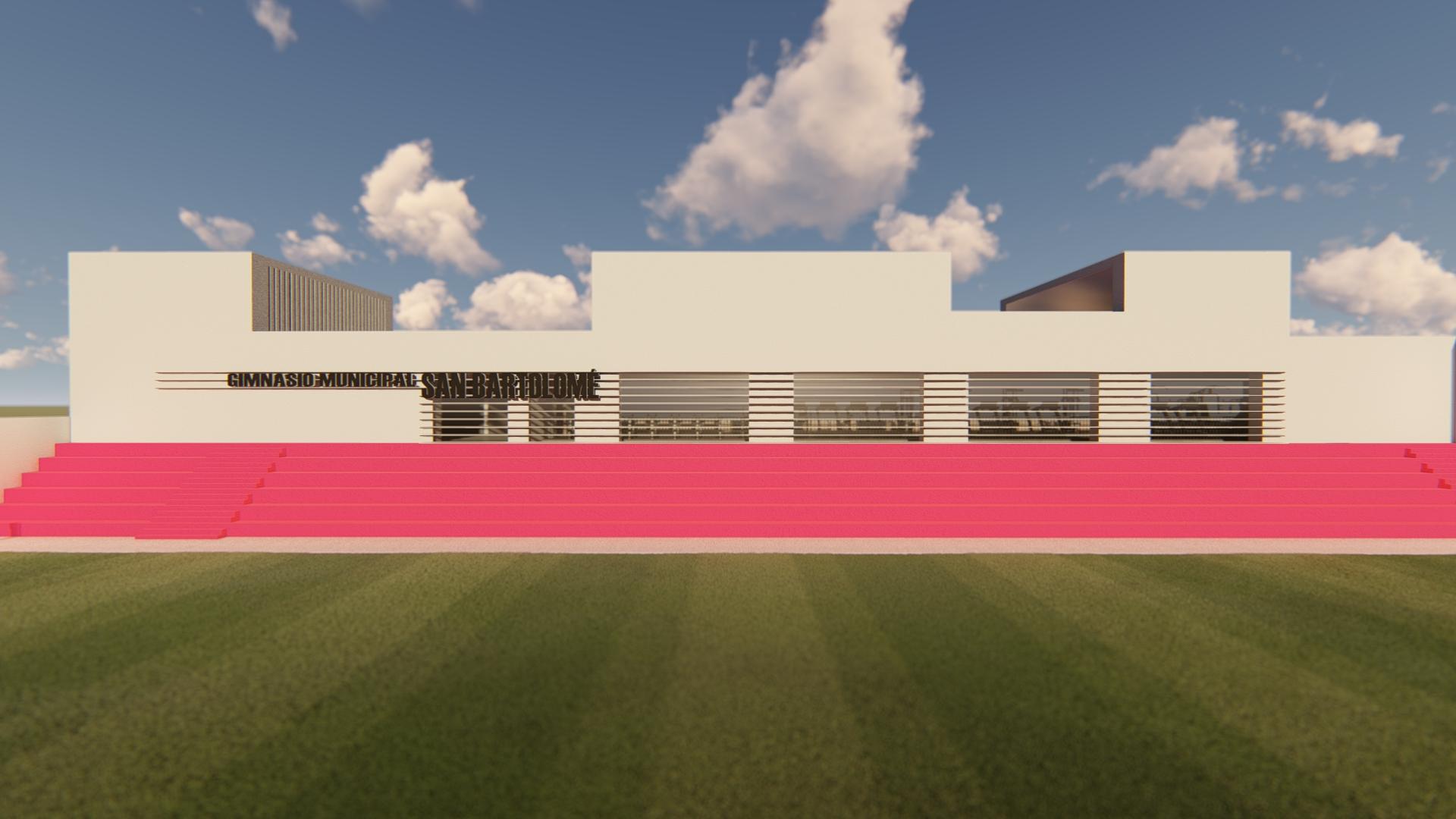 La remodelación del gimnasio municipal de San Bartolomé ya dispone de proyecto