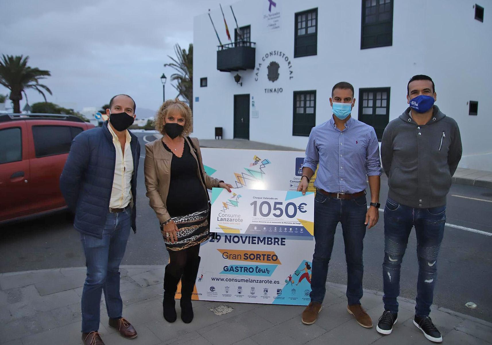 Consume Lanzarote deja mas de 3.500 participantes y 425 comercios adheridos a la promoción