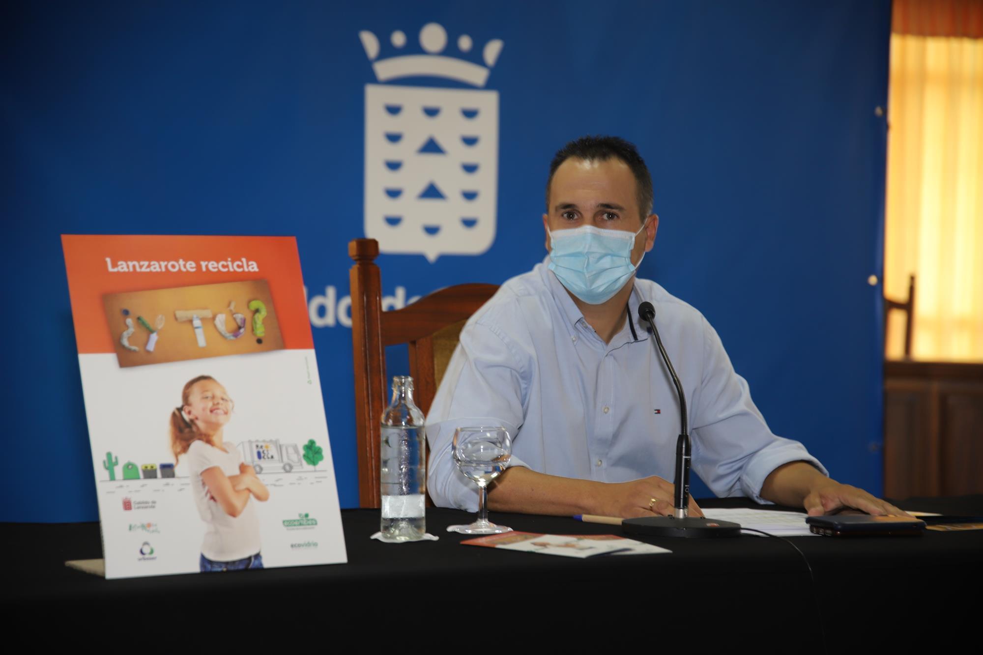 """""""Lanzarote recicla, ¿y tú?"""", nueva campaña de Cabildo, Ecoembes y Ecovidrio"""