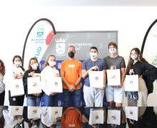 Entrega de premios a los jóvenes con las mejores mascarillas del Terror del municipio de Tías