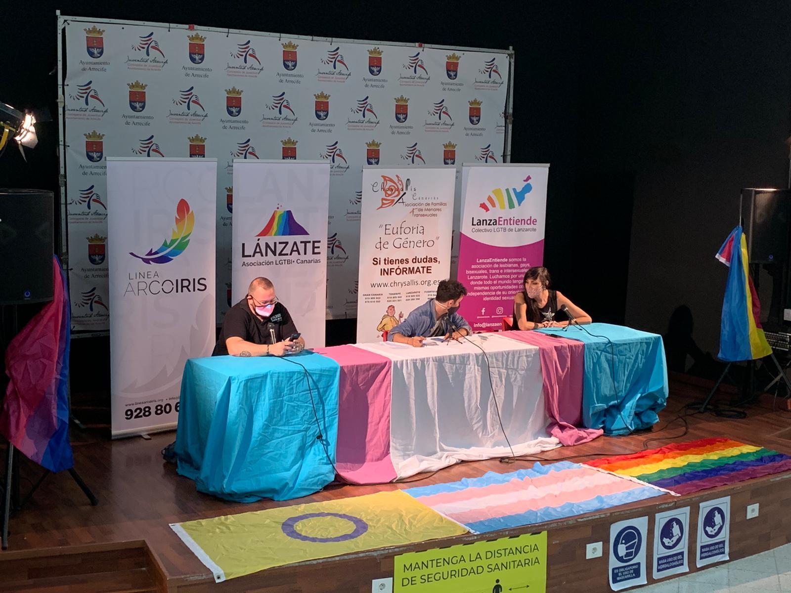 El Cabildo de Lanzarote conmemora el Día Internacional de la Memoria Trans