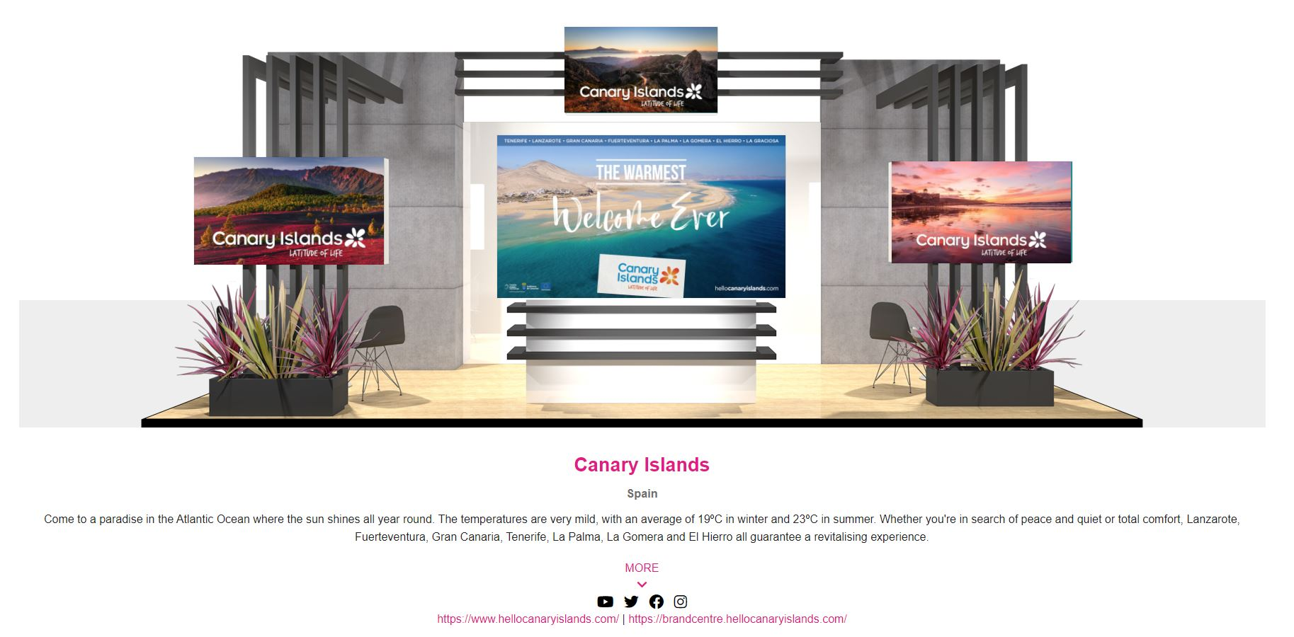 Turismo de Canarias mantiene su presencia en la WTM virtual que se celebrará entre el 9 y 11 de noviembre