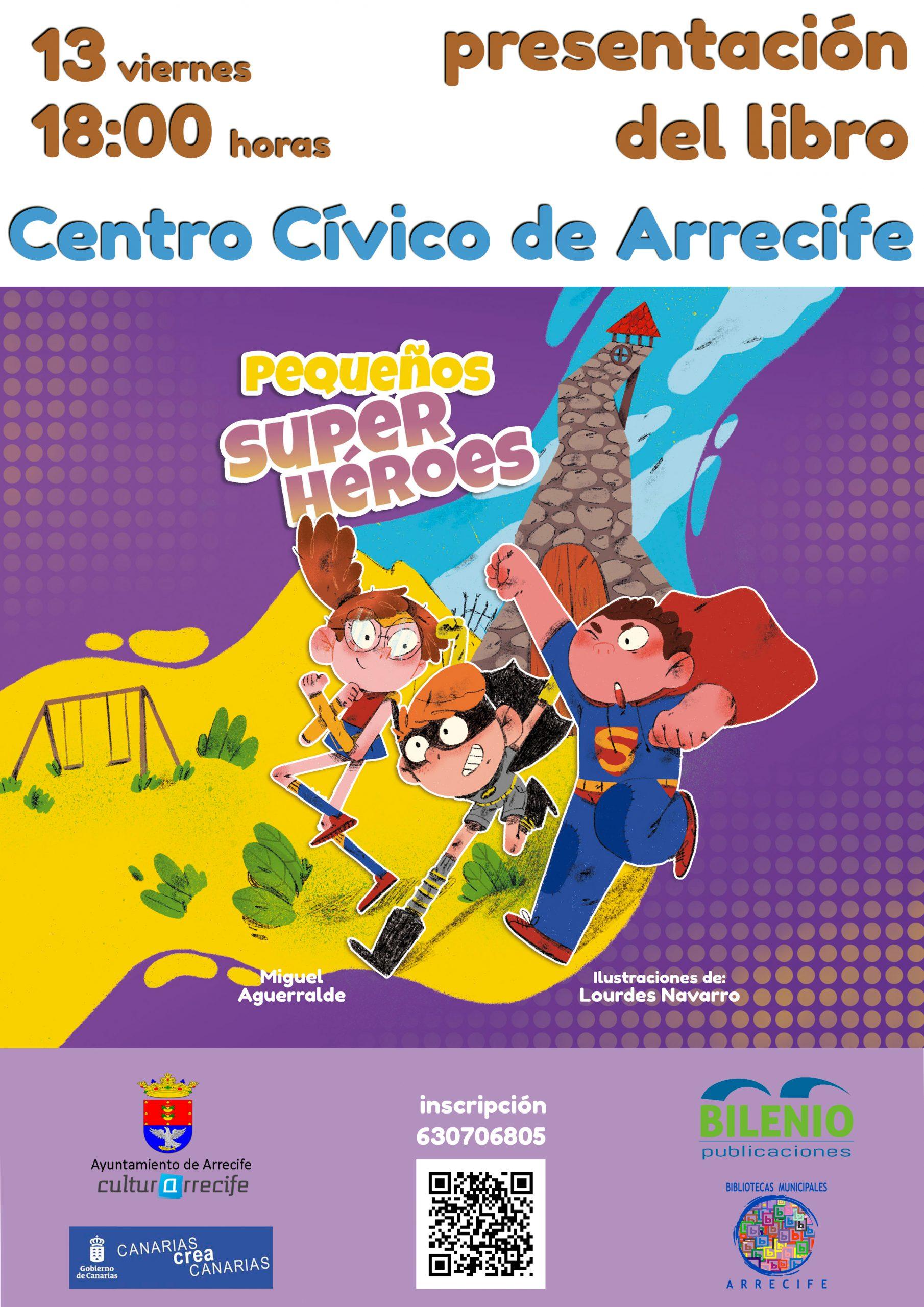 Presentación del libro Pequeños Superhéroes