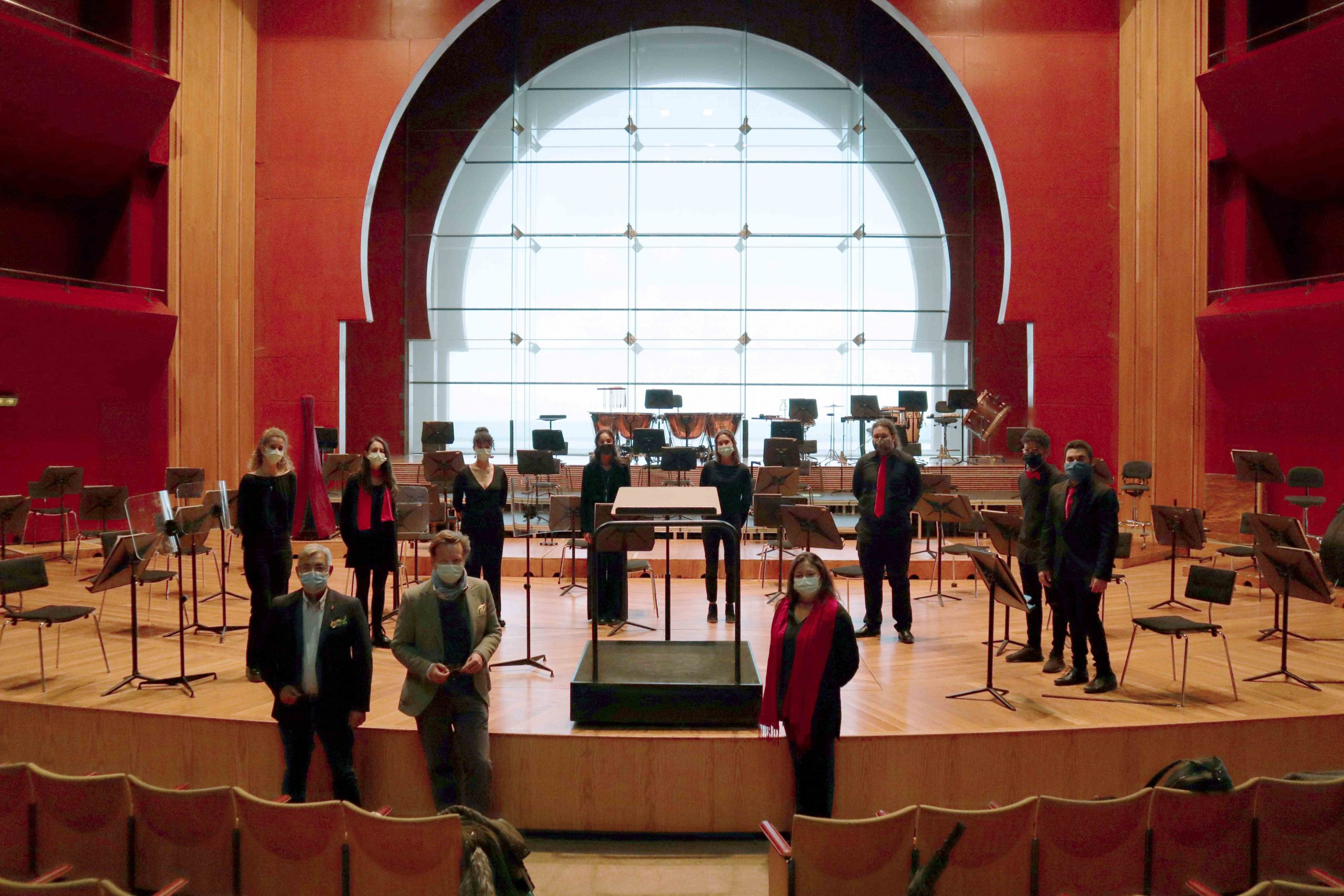 El Auditorio Alfredo Kraus colabora con la Casa de Galicia y permite donativos online para el concierto 'Villancicos del Mundo'