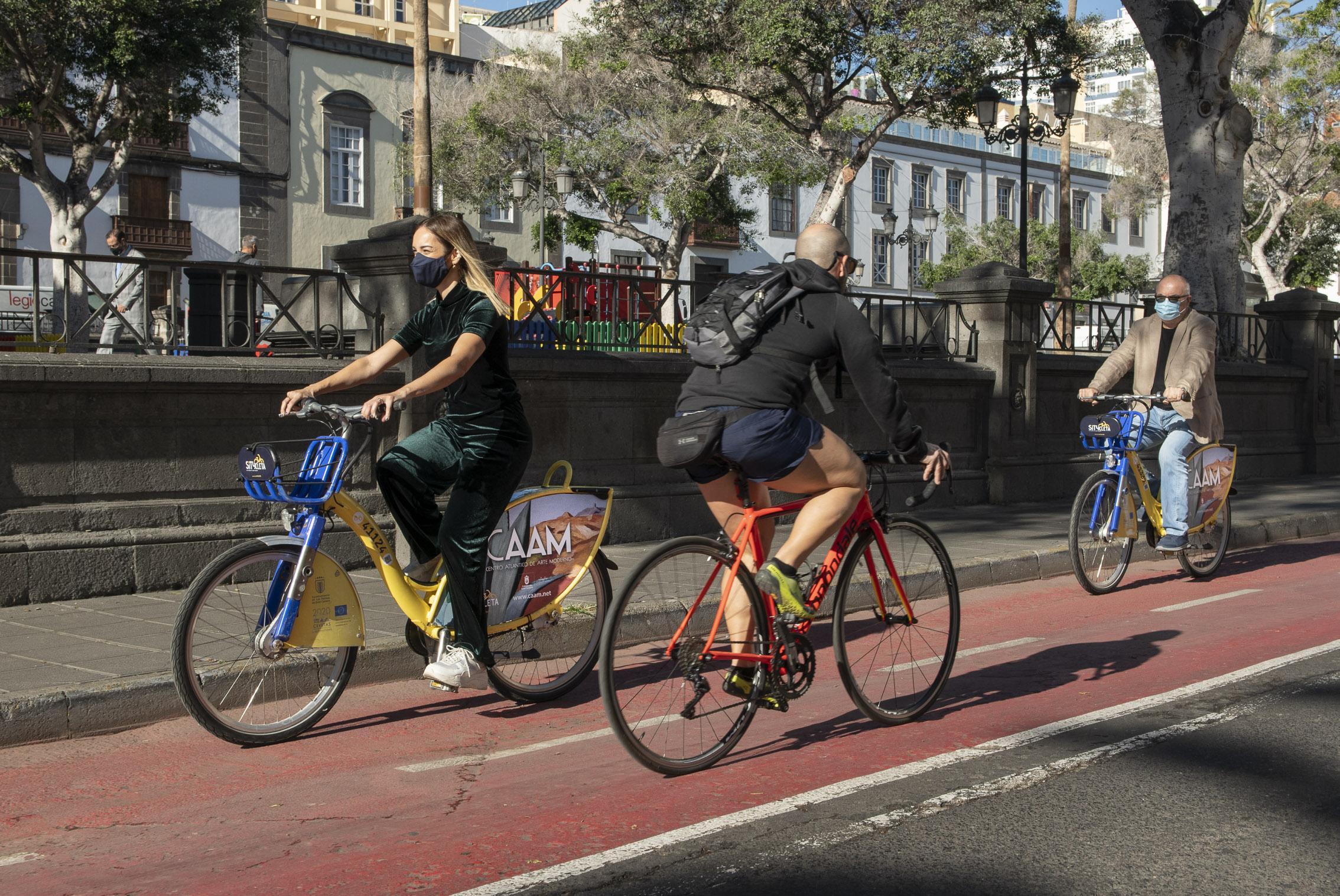 El CAAM apuesta por la bicicleta pública de uso compartido como soporte de promoción del arte y la cultura sostenible