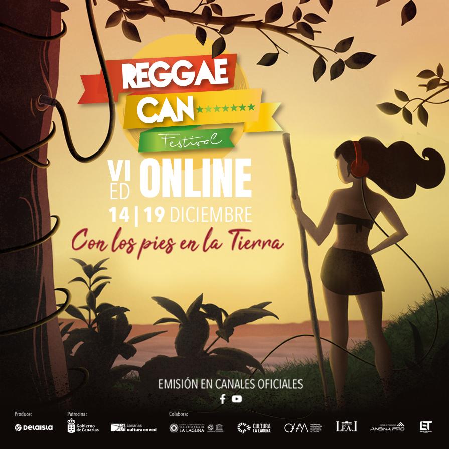 Vuelve Reggae Can Festival Online 100%