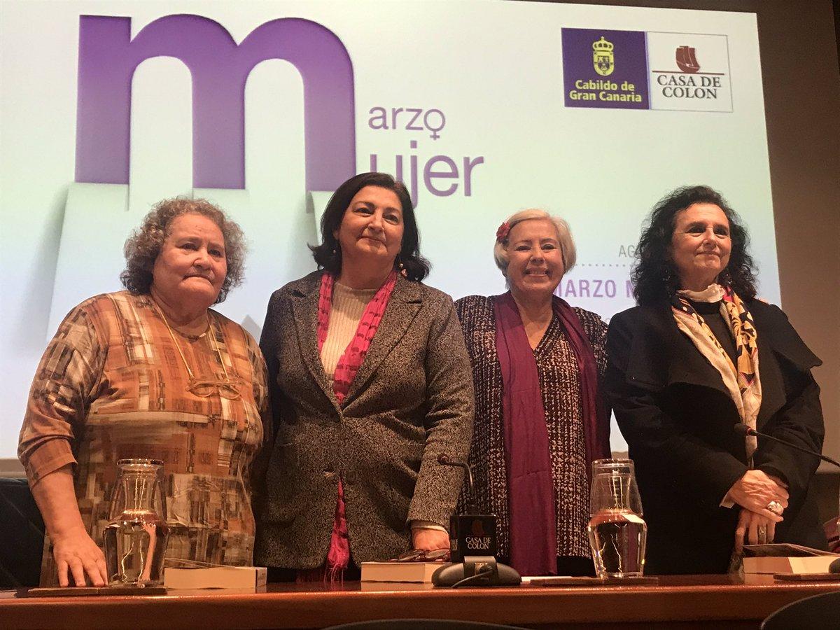 La mujer en la cultura en Canarias