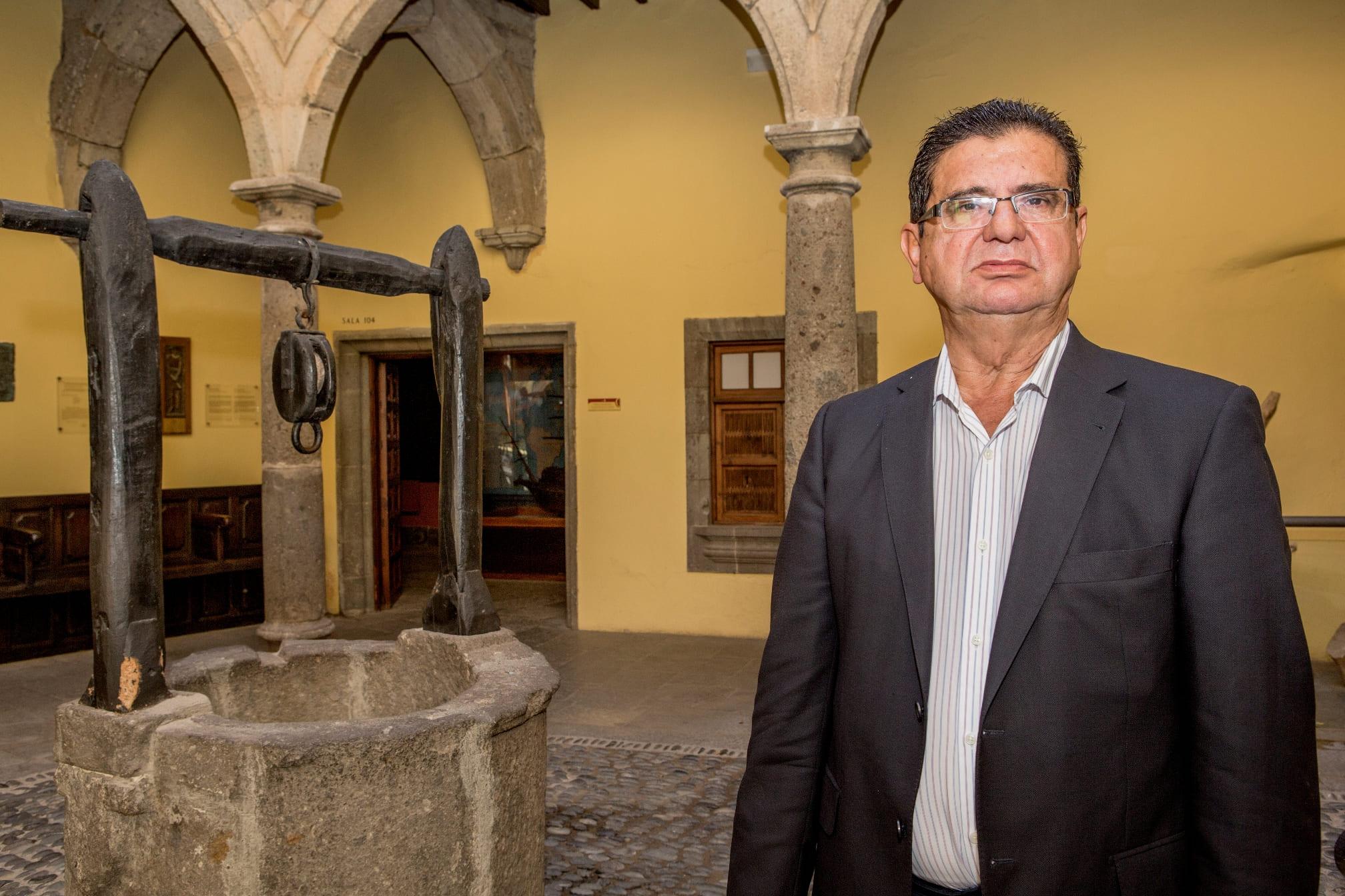 La Casa de Colón acoge la presentación del libro de Manuel Lobo