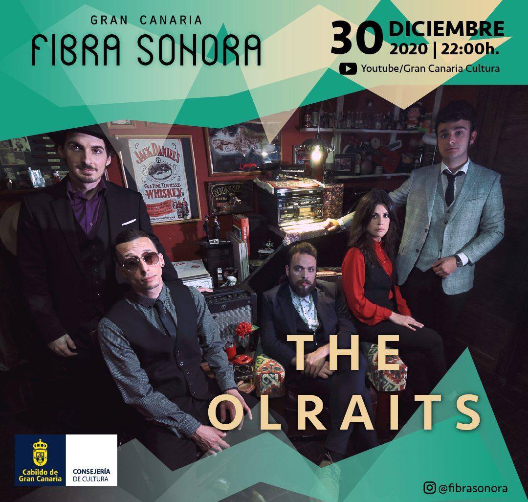 Los sonidos de blues y rock de The Olrait Band pone el broche final a los conciertos virtuales de 'Gran Canaria Fibra Sonora'