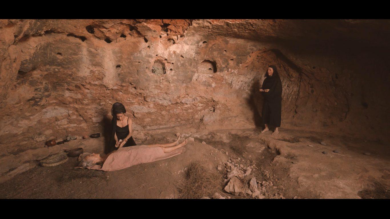 Diez mujeres evocan los territorios sagrados de Gran Canaria en una pieza de video performance