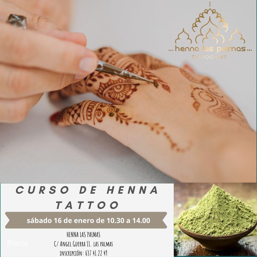 Curso de Henna Tattoo, aprende desde cero