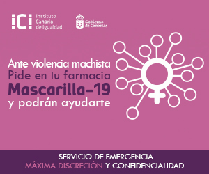 'Mascarilla-19' ha permitido pedir auxilio en las farmacias canarias a mujeres que estaban siendo víctimas de violencia