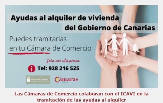 Ayudas al alquiler de vivienda del Gobierno de Canarias