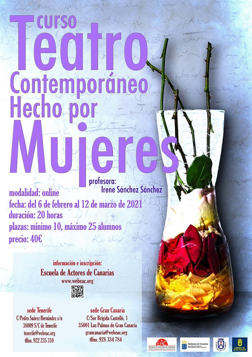Curso Online de Teatro contemporáneo creado por mujeres