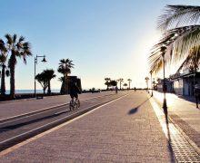 Finalizan las obras del paseo marítimo de la Avenida de las Playas por la zona de Matagorda