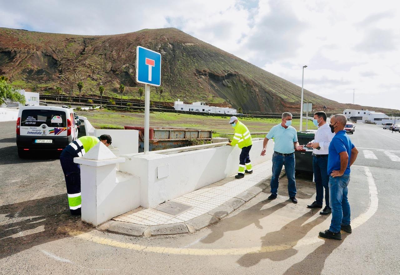 Teguise continúa con su plan de tráfico, accesibilidad y mejora de vías por los pueblos del municipio