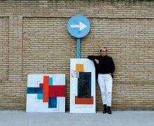 Exposición en Teguise 'Momentos convertidos en geometría', de Masqali