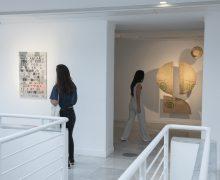 Estudiantes de arte de Gran Canaria presentan la 21º muestra colectiva 'Territorio CAAM' con obras inspiradas en Ángel Sánchez