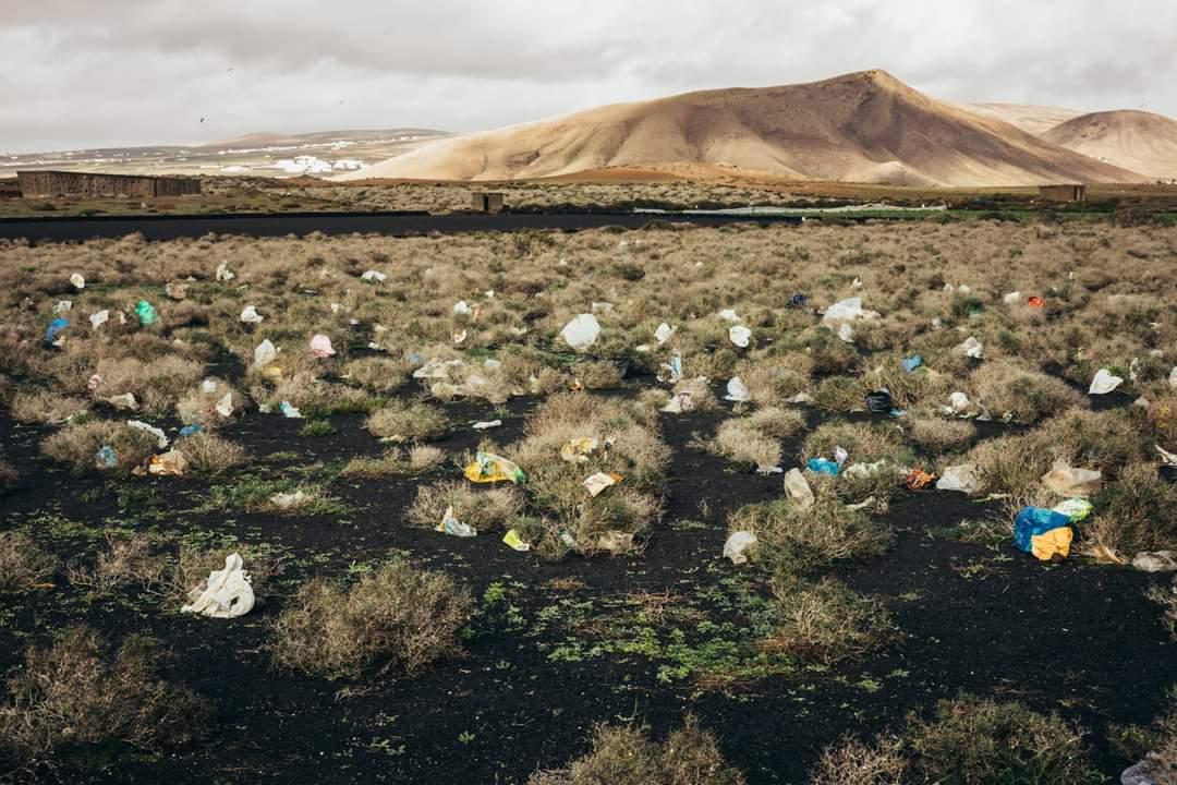 Nueva Canarias demanda una mejora en el acotamiento del vertedero de  Zonzamas