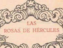 Descarga gratuita on line de 'Las Rosas de Hércules' de Tomas Morales