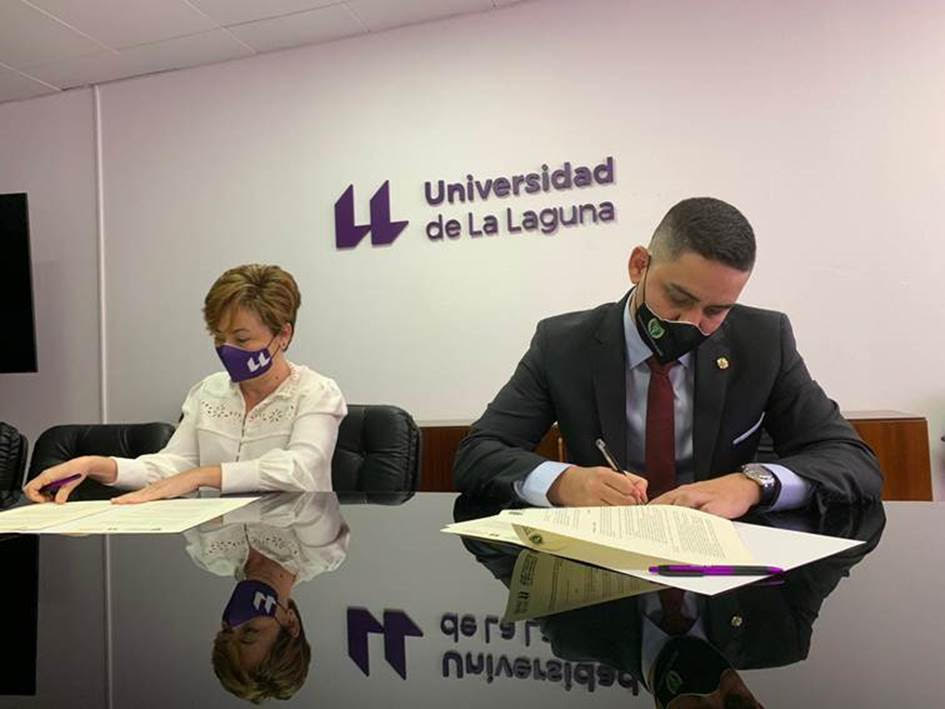 Titulados Mercantiles y Empresariales colabora con la ULL en clases y actividades formativas para estudiantes