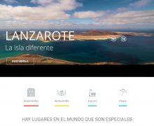 La web promocional de Turismo Lanzarote registró en 2020 casi 500.000 visitas más que el año anterior
