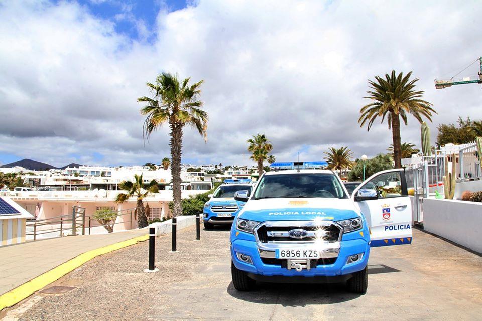 La Policía Local de Tías formula el fin de semana 27 denuncias por incumplimiento de medidas anti covid