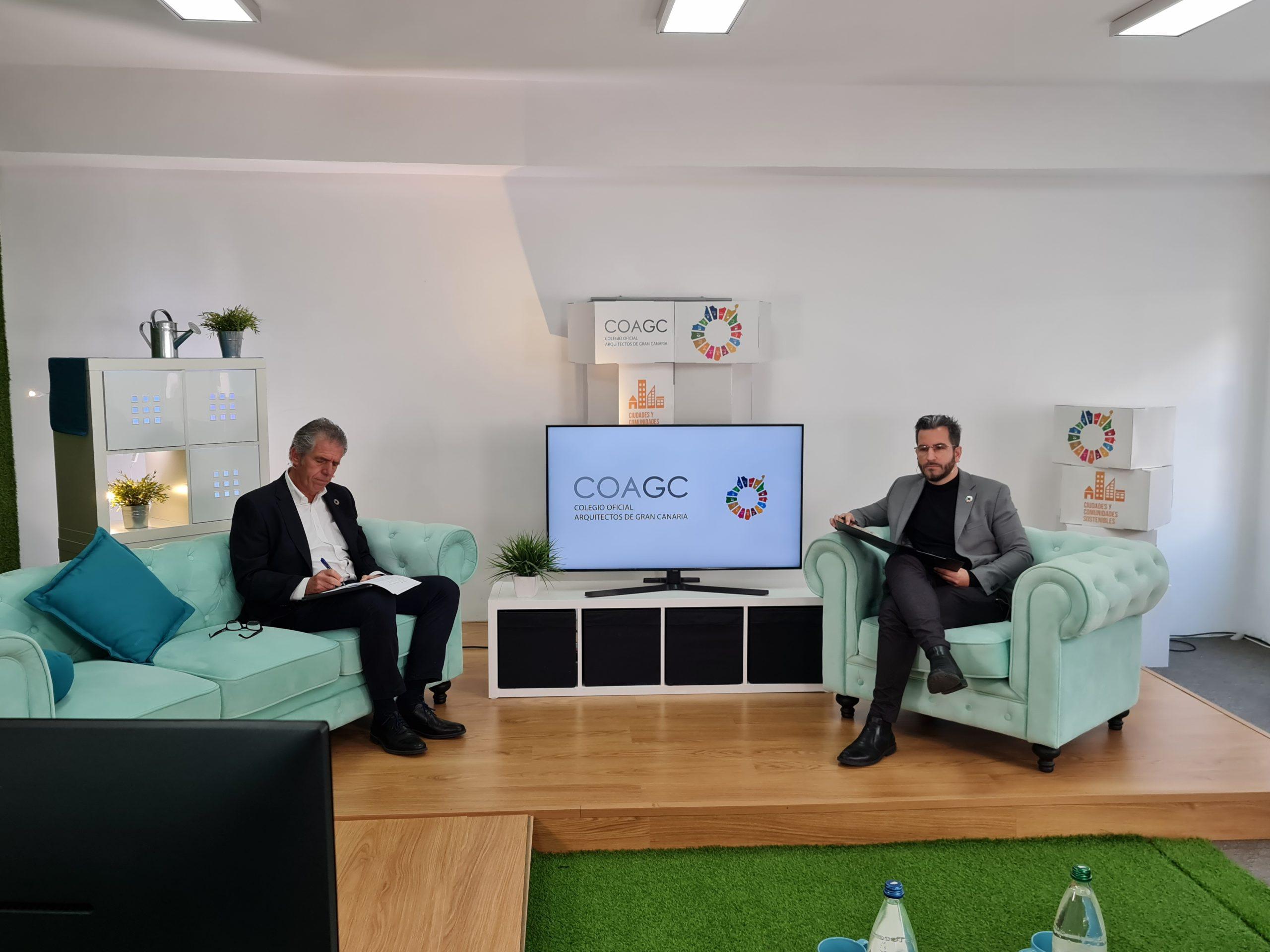 El Colegio de Arquitectos aporta soluciones al futuro de Canarias