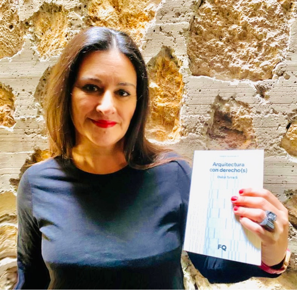 Dulce Xerach presenta online su  nuevo libro ARQUITECTURA CON DERECHO(S)