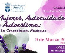 """Charla online""""Mujeres, autocuidado y autoestima: la conversación pendiente"""""""
