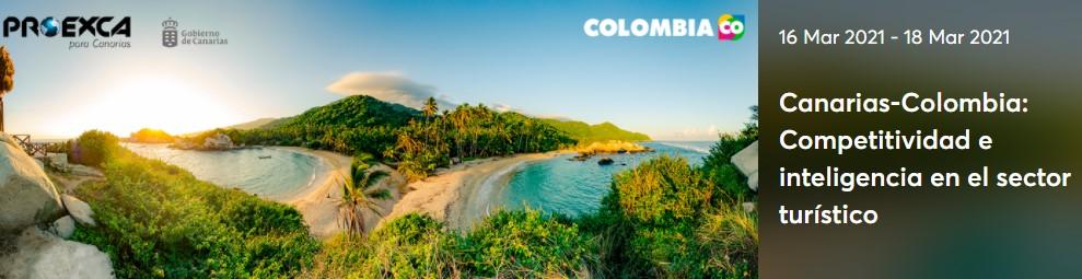 Bienvenidos a los Encuentros B2B. Canarias-Colombia: Competitividad e inteligencia en el sector turístico.