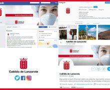 El Cabildo potencia sus redes sociales  durante la pandemia para mejorar la  comunicación con la ciudadanía