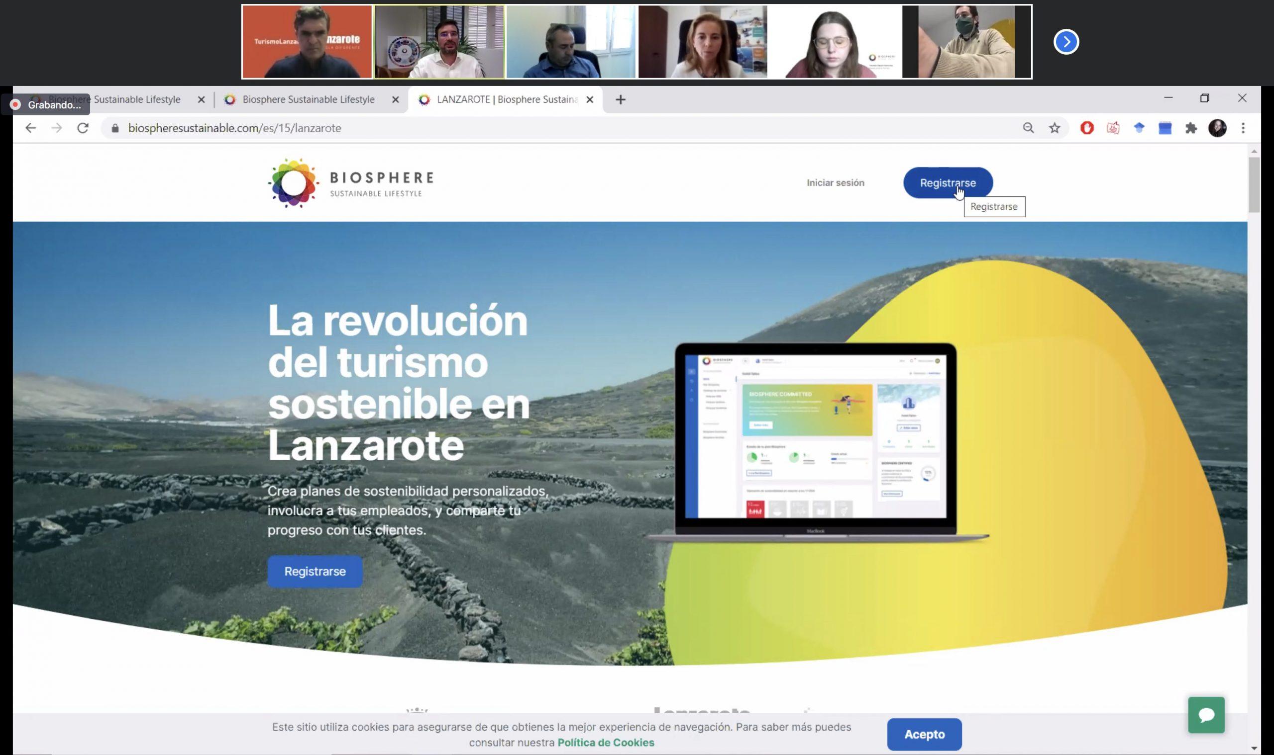 Turismo Lanzarote y la Federación Turística insular aúnan sinergias de cara al cumplimiento de los Objetivos de Desarrollo Sostenible y la Agenda 2030