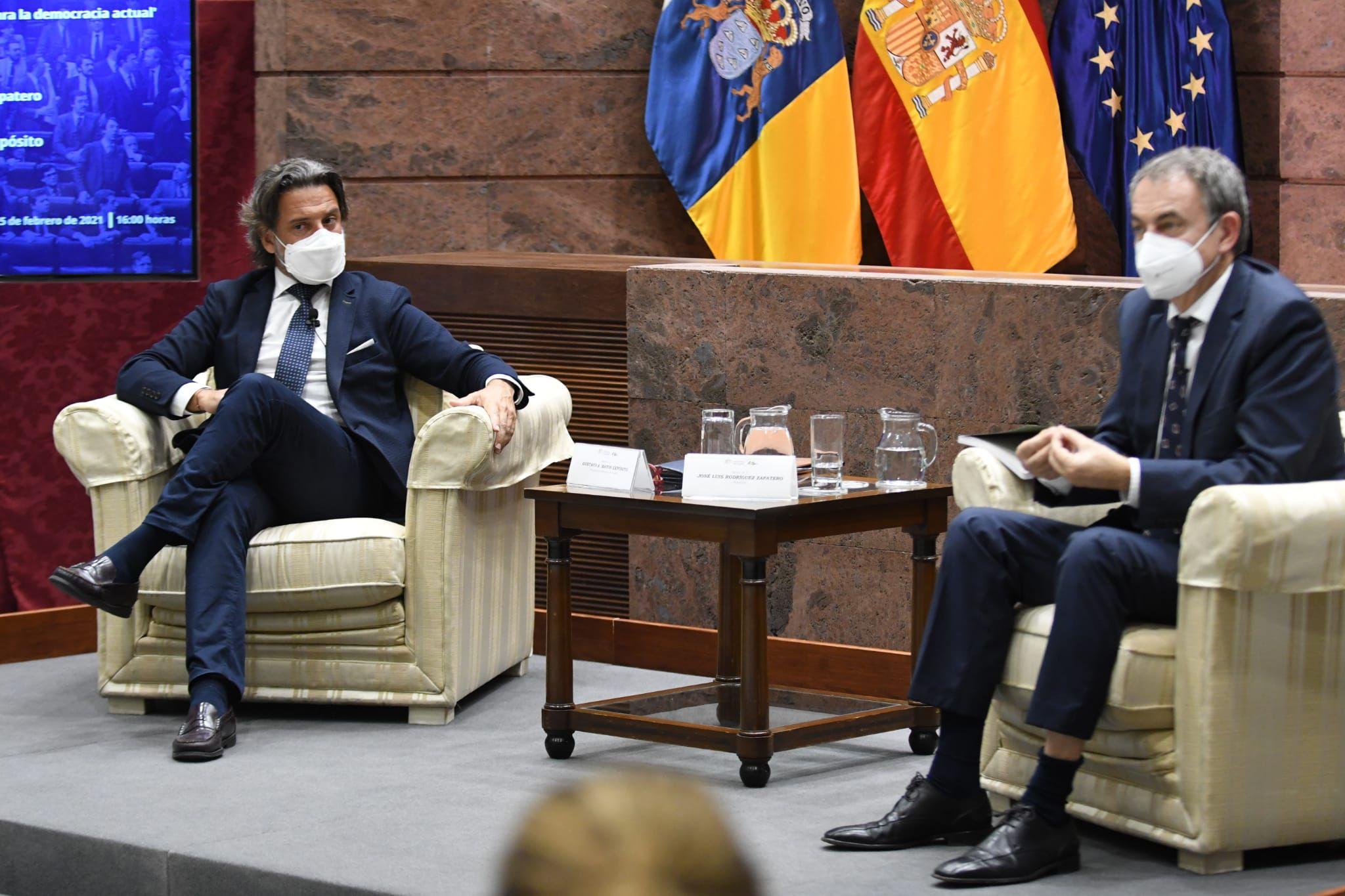 Rodríguez Zapatero en Foro Parlamento '40 años 23F'