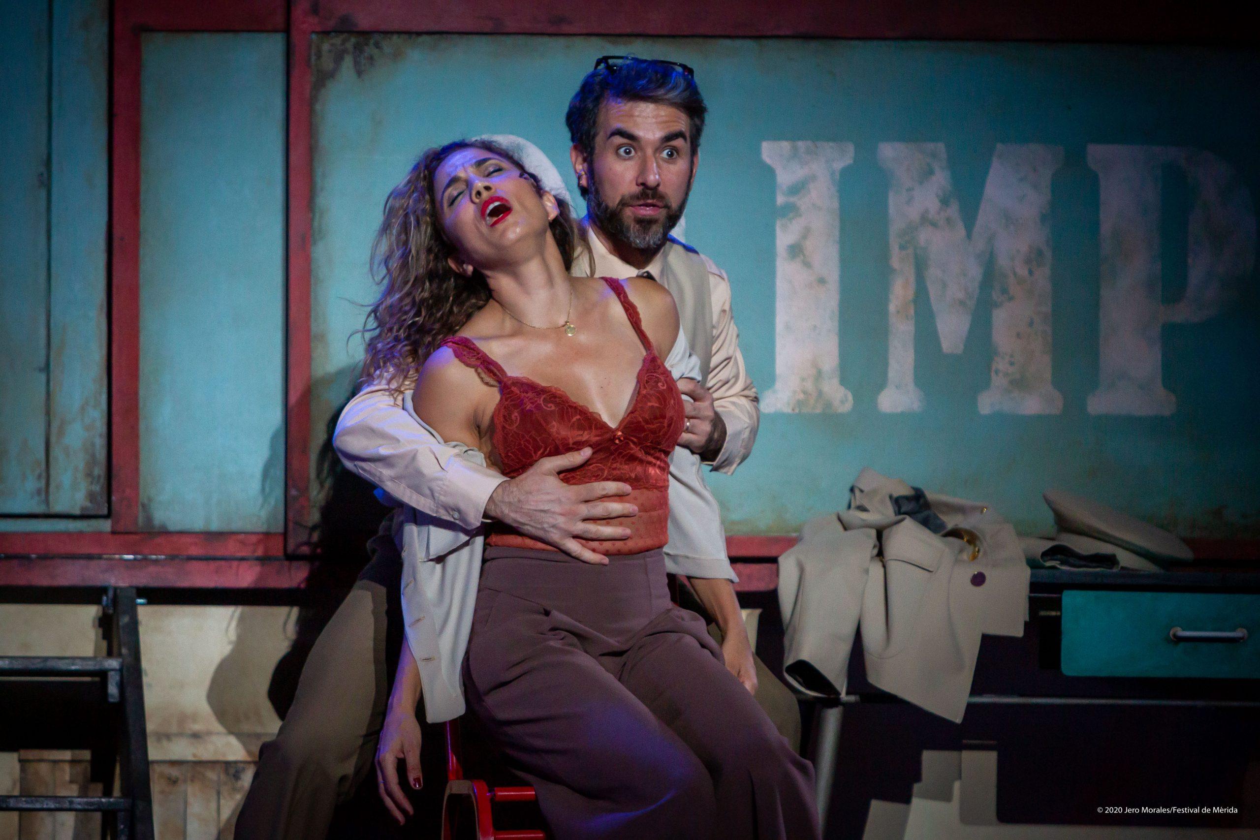 Toni Acosta y Pepón Nieto protagonizan en el Cuyás 'Anfitrión', de Juan Carlos Rubio