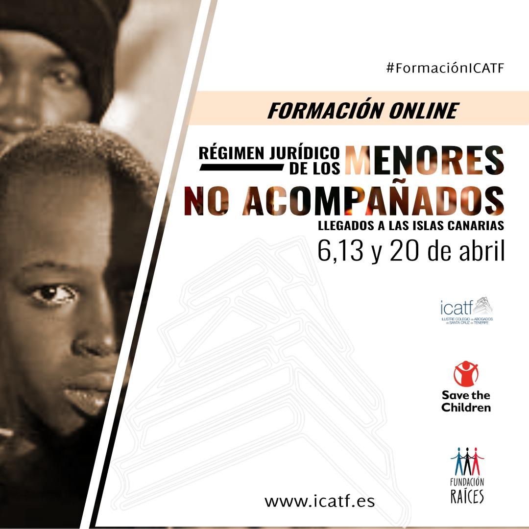 El Colegio de Abogados de Santa Cruz de Tenerife organiza un curso sobre el régimen jurídico de los menores migrantes que llegan a Canarias