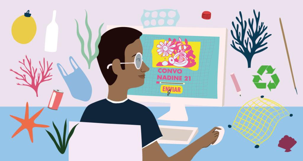 Convocatoria Nadine 21. Ayudas para jóvenes artistas con impacto social o medioambiental