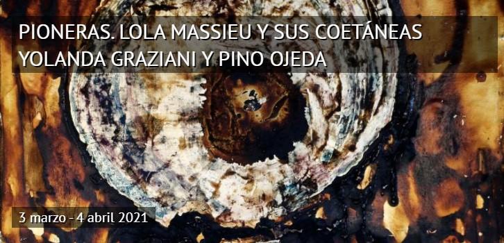 'Marzo-Mujer' y la exposición 'Pioneras' de la Casa de Colón, con obras de Lola Massieu, Yolanda Graziani y Pino Ojeda