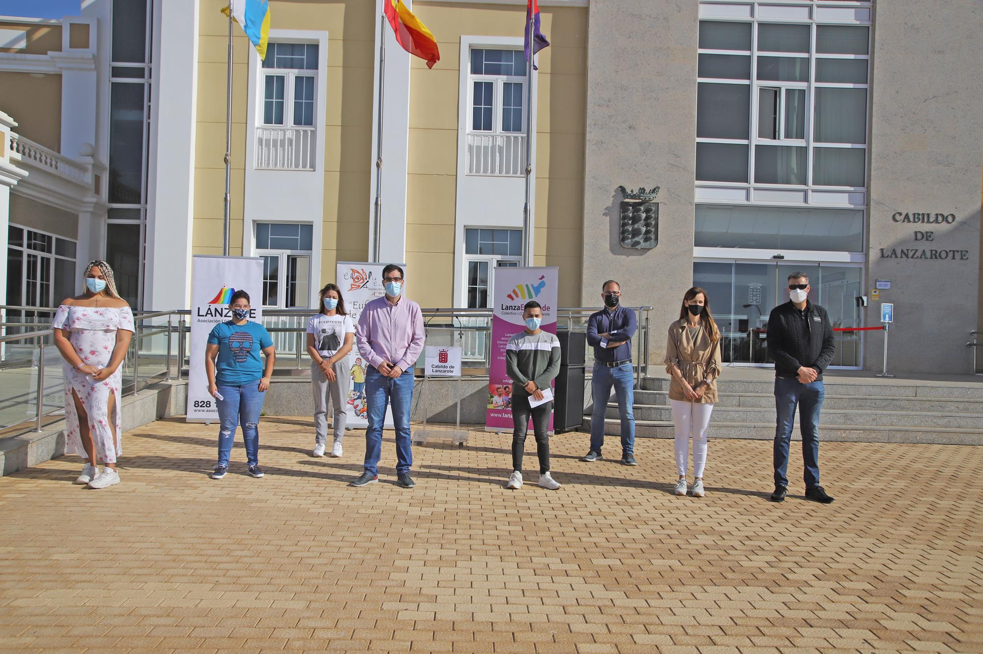 Lanzarote conmemora la celebración del Día Internacional de la Visibilidad Trans
