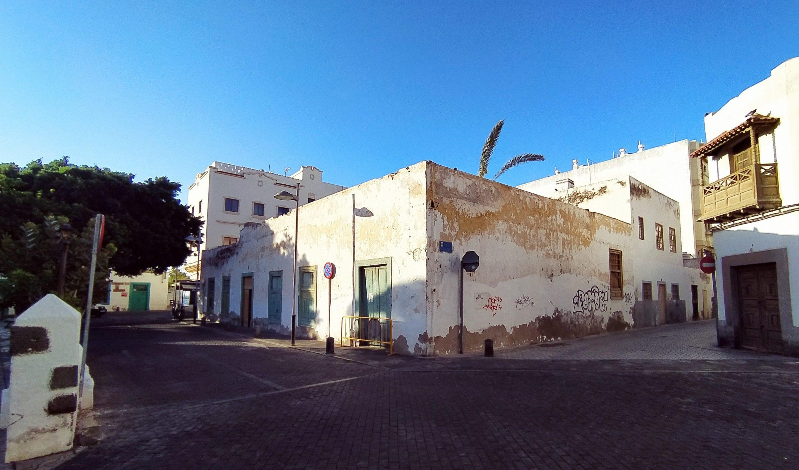 Arrecife otorga licencia para restaurar una casa histórica junto a la iglesia de San Ginés
