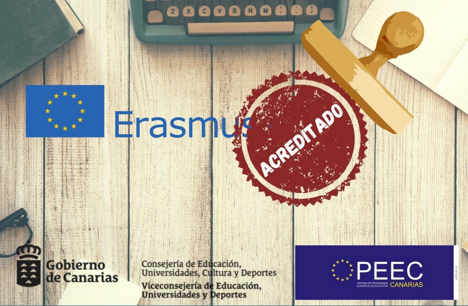 Canarias obtiene 56 acreditaciones para desarrollar el nuevo programa Erasmus+ 2021-27