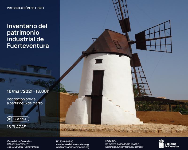 Presentación del Inventario del Patrimonio Industrial de Fuerteventura