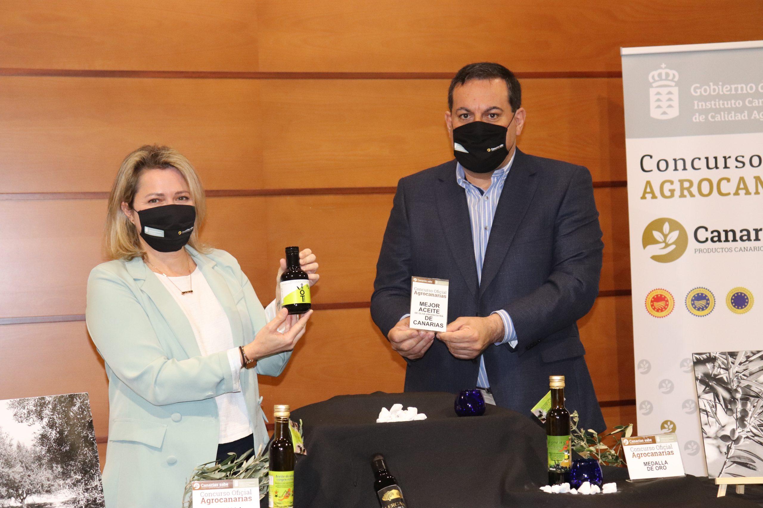 El mejor aceite de oliva virgen extra de Canarias, Oleoteide, de Tenerife