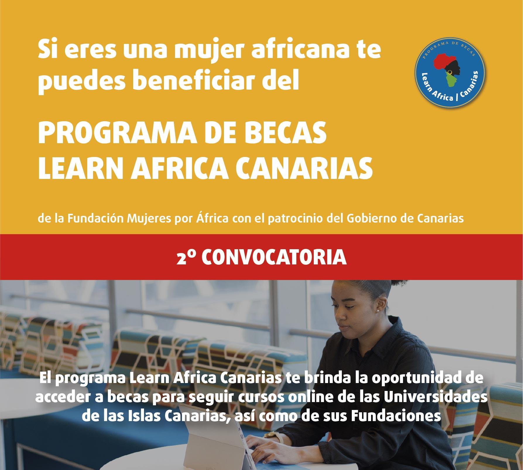Abierta la segunda convocatoria de becas Learn Africa Canarias para universitarias del continente vecino