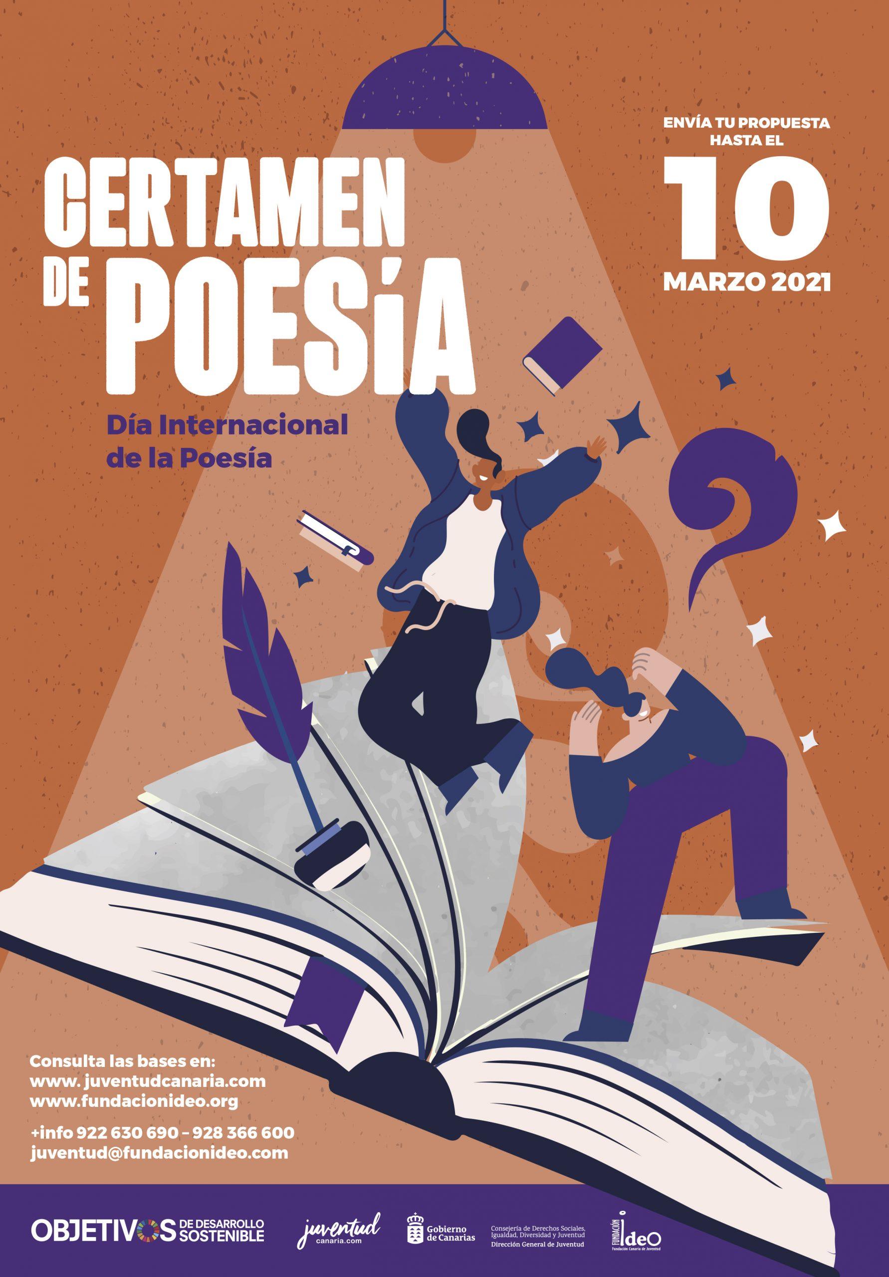 Juventud impulsa la creación literaria en el Día Internacional de la Poesía