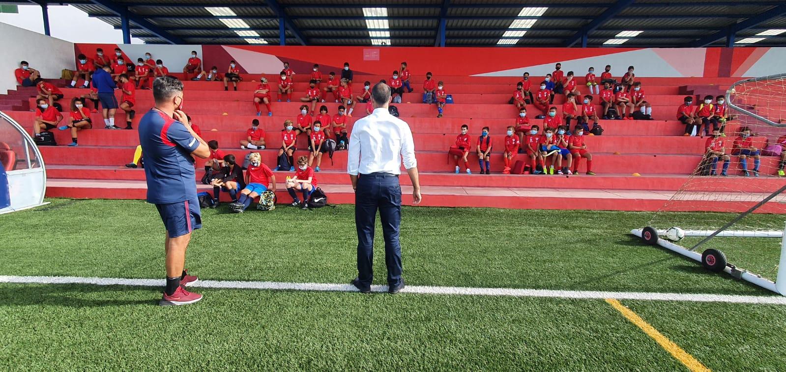 San Bartolomé aprobará el incremento de la subvención por deportista a las Escuelas Deportivas Municipales
