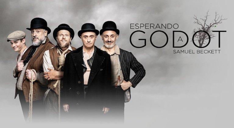 Pepe Viyuela presenta en el Teatro Cuyás 'Esperando a Godot'