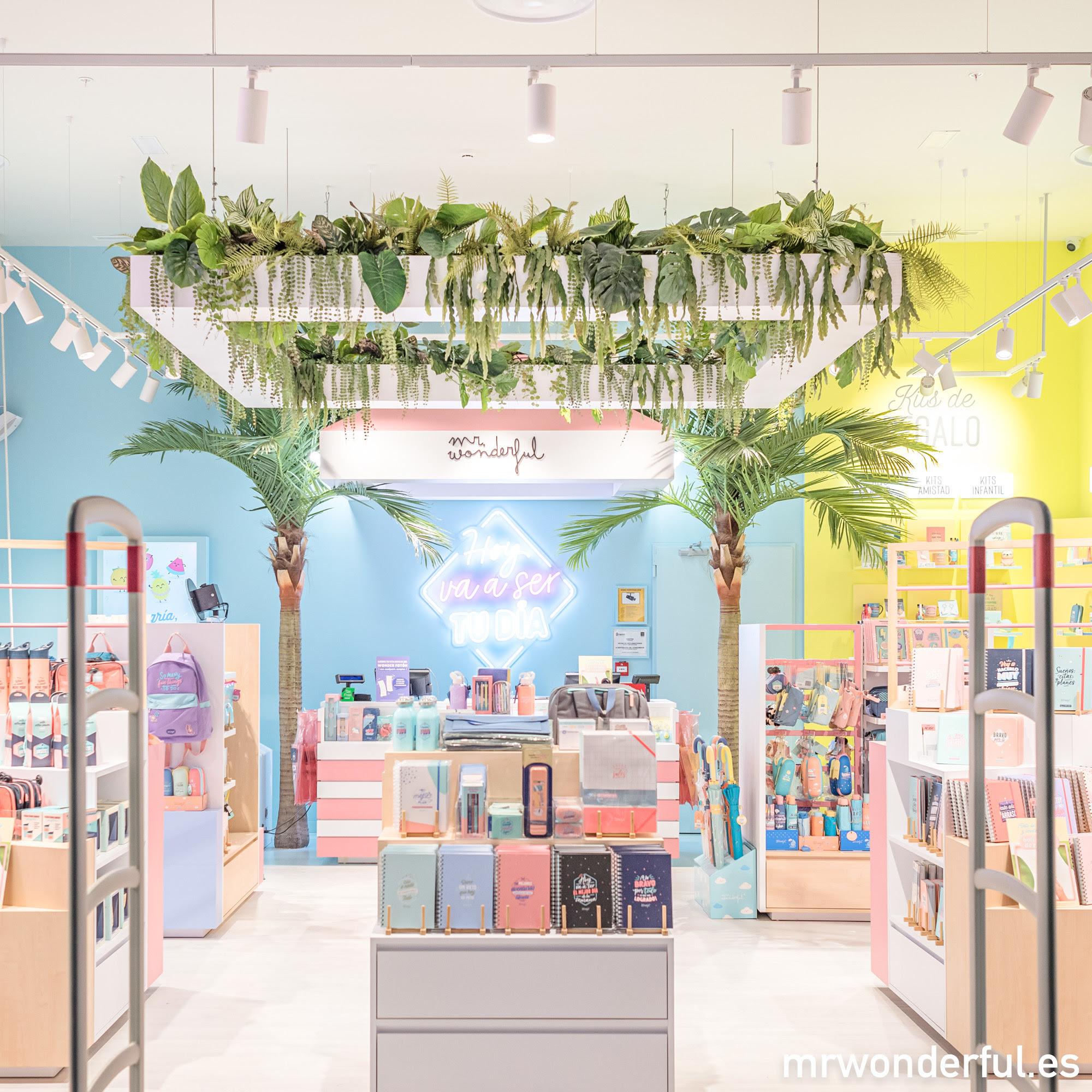 Mr. Wonderful y Grupo Número 1 se unen para la apertura de sus primeras tiendas en Canarias