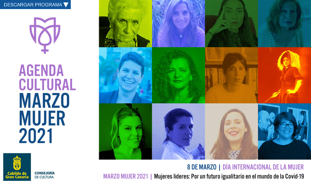 Actividades culturales mes de marzo MUJER 2021