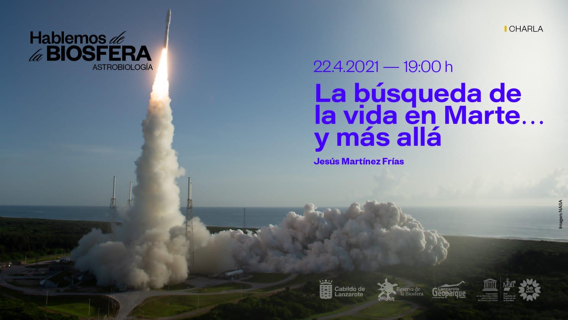"""El Cabildo organiza la charla """"La búsqueda de vida en Marte… y más allá"""" por el Día Internacional de la Madre Tierra"""